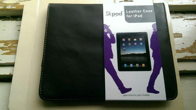 Husa noua Skpad Paris din piele naturala pentru iPad 1, culoare maro