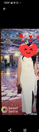 Платье белая недорого.