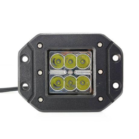 Мощна високо интензивна LED светлина,прожектор, работна лампа 18W