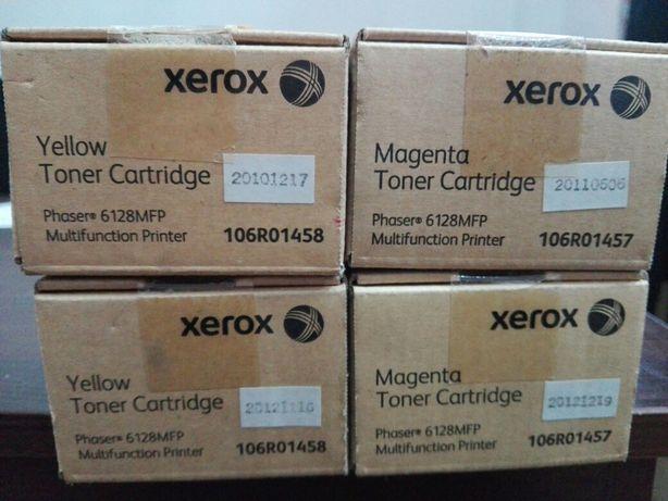 продам картриджи xerox phaser 6128 mfp