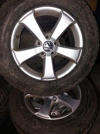 Roti originale Volkswagen Tiguan anvelope iarna vara M&S
