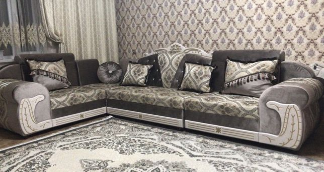 Угловой пружинный диван Авангард по супер доступной цене