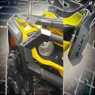 Capace bumper bara protectie ATV Can Am Outlander RJWC metal