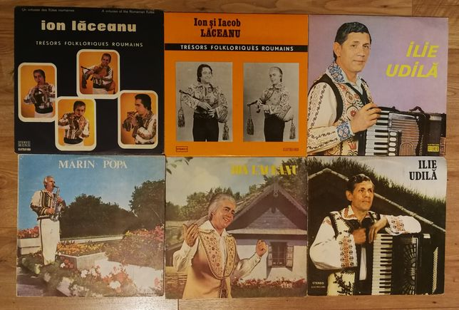 Vinil Ion Laceanu Ileana Sararoiu Elena Roizen Fanfara Armonia Folclor