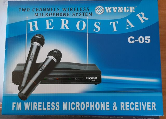 Microfoane wireless pt karaoke NOI !