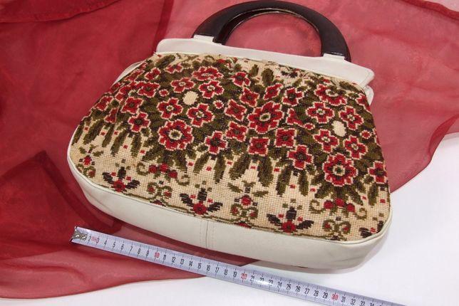 POSETA, geanta cu fatza-spate din goblen, eleganta, la moda