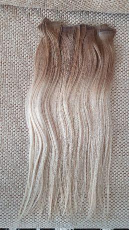 Extensii par natural blond lungime 50 cm preț 350 lei