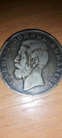 Moneda veche argint 1880