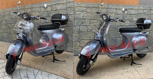 Електрически скутер VESPA-4000W 72V/20Ah+ЛИЗИНГ+Документи за КАТ