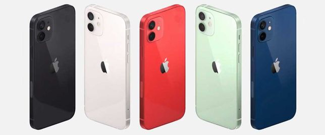 iphone 12 128gb Black / White / Red / Green / Blue