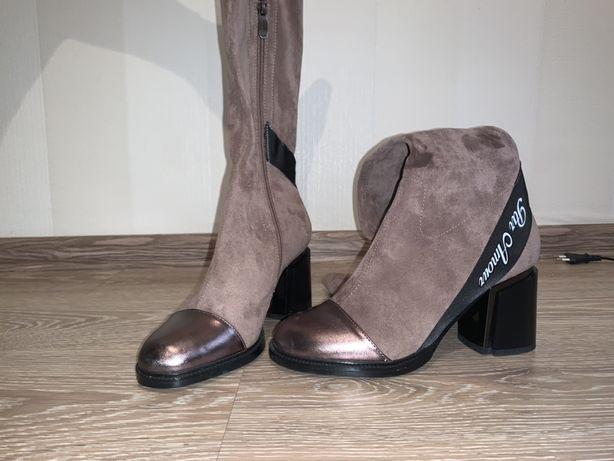 Продам абсолютно новое женское демисезонное обувь за 25 000 тенге