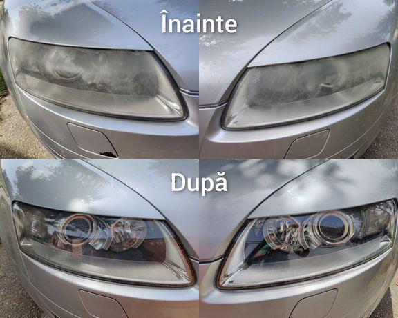 Polish/recondiționat faruri auto