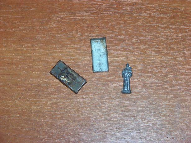 Figurina ortodoxa din plumb, ani 70-80, vintage