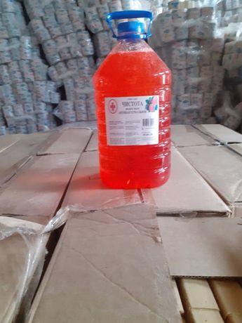 Антибактериальное жидкое мыло 5 л (с отдушкой Лесная ягода)