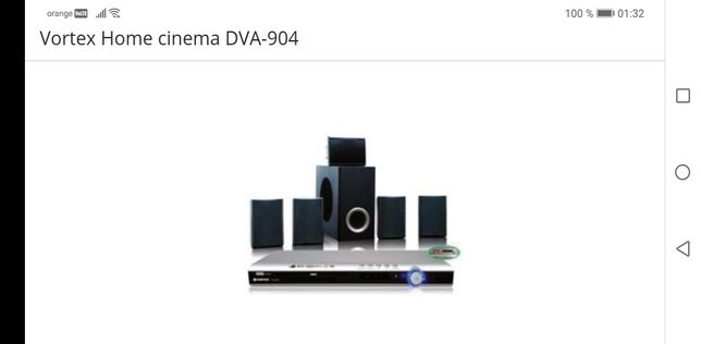 Vând Vortex Home cinema DVA-904