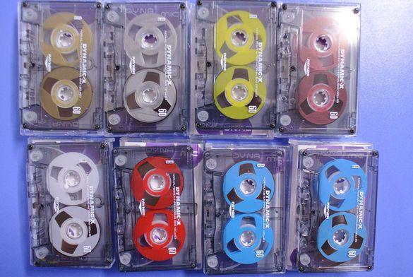 Аудио касети Reel to Reel ЧИСТО НОВИ Dynamic-x Цеветни DIY
