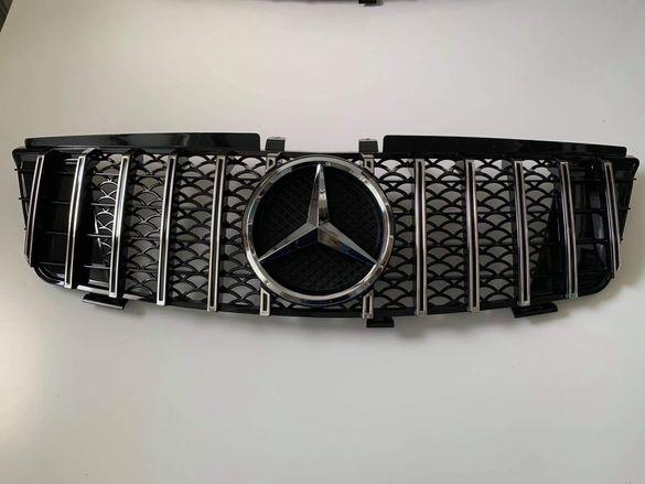 Решетка за Mercedes ML W164 05-08