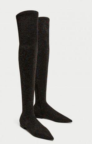 Cizme lungi Zara peste genunchi diferite marimi