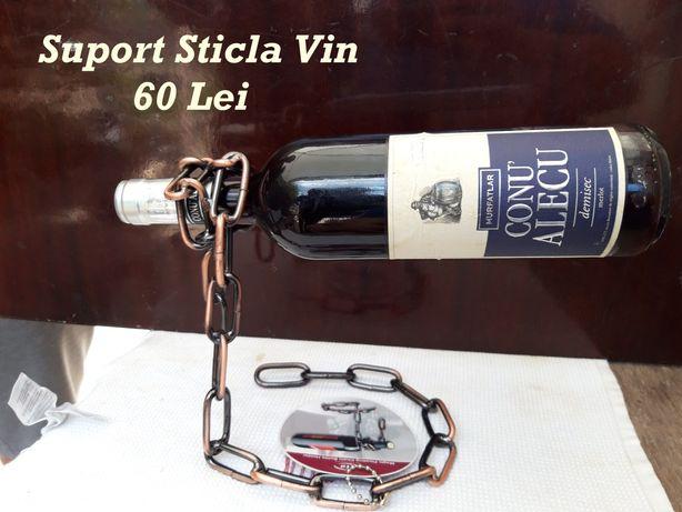 Suport sticla vin, cutie cadou pt vin