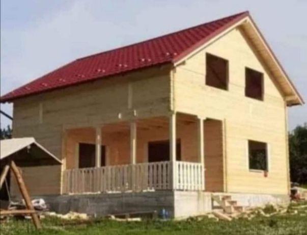 Realizăm cabane de lemn