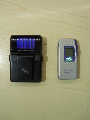 Vand radio sony digital walkman sony srf-m55 si radio solar