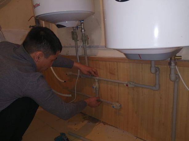 Монтаж пайка подключение водонагревателей