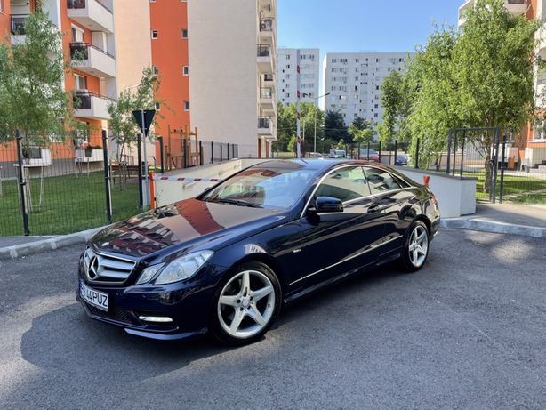 Mercedes E250 Coupe AMG Pack 2012 CDI W207
