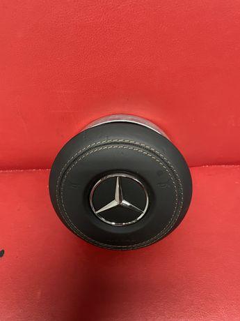 Мерцедес AMG Airbag Кожа Като нов