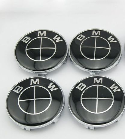 Capace Jante BMW R16 R17 R18 R19 R20 68mm e30 e34 e36 full black