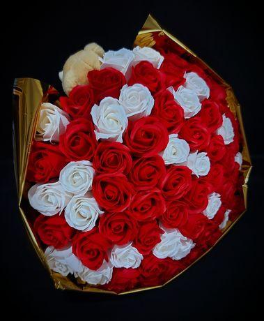 Trandafiri de săpun, BUCHET, DISPONIBIL!