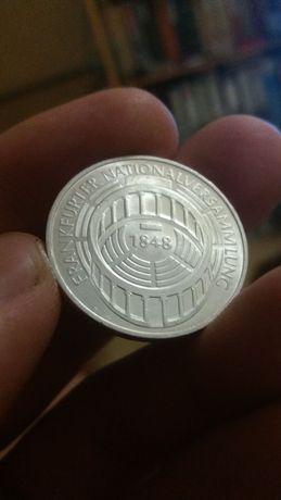 Коллекционные монеты ФРГ  серебро