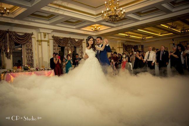 DJ nunta Galati, fum greu pentru dansul mirilor