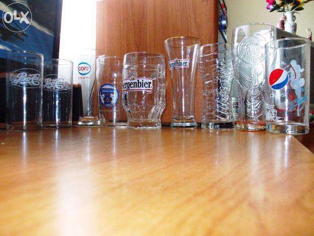 Pahare de colectie Coca Cola Pepsi, Lipton , Bergenbier