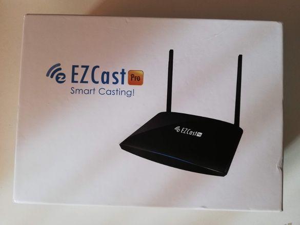 EZCast Pro Box - 4K Miracast Безжична презентационна система. Чисто