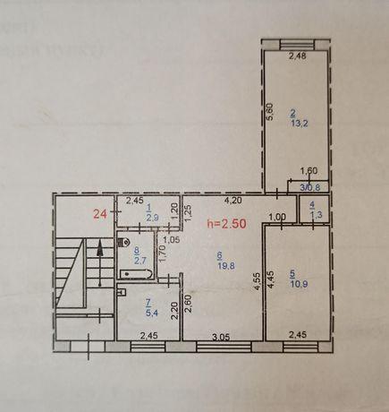 Квартира 3х комнатная