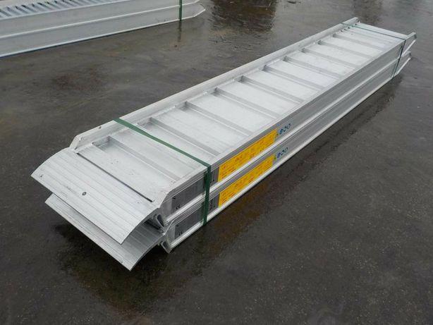 Rampe aluminiu 18t , trailer, platforma incarcare utilaje