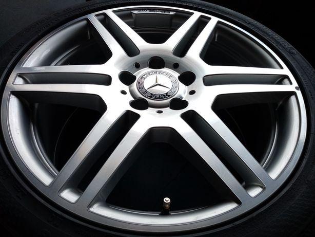 "Jante originale Mercedes E class coupe W207 18""noi anvelope noi vară."