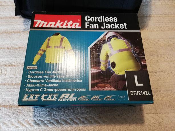 Jachetă Makita cu ventilare