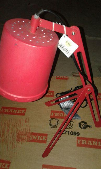 lampă rosie metalică COREP