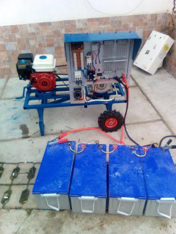 Generator sistem mixt ,solar,eolian, si autoturisme electrice