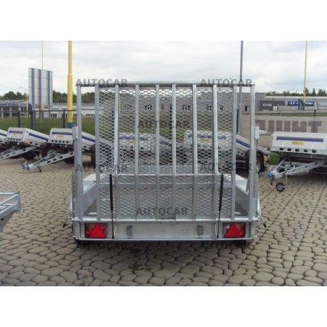 Remorca transport utilaje Bobcat Miniexcavator 3050X1550 mm Grosi - imagine 1