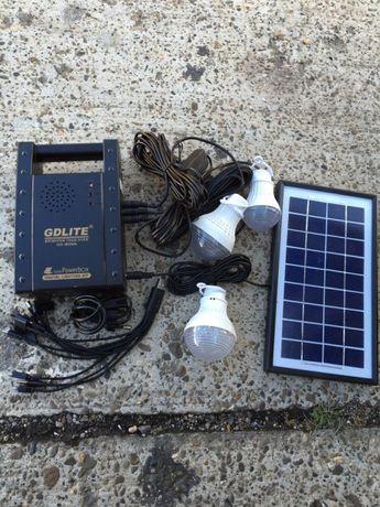 Kit Complet Solar 3 becuri + Radio