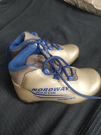 Ботинки для лыж детские 30 размер
