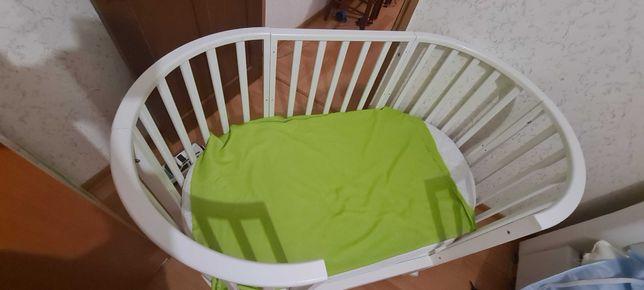 Продам детскую кровать 6в1