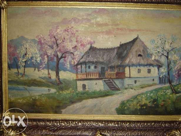 Vand tablou Casa lui Anton Pann de Iliescu C-tin, portrete, peisaje