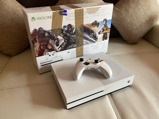 Consola Microsoft Xbox One S,1TB White,Full box,cu CD/Super Pret!!