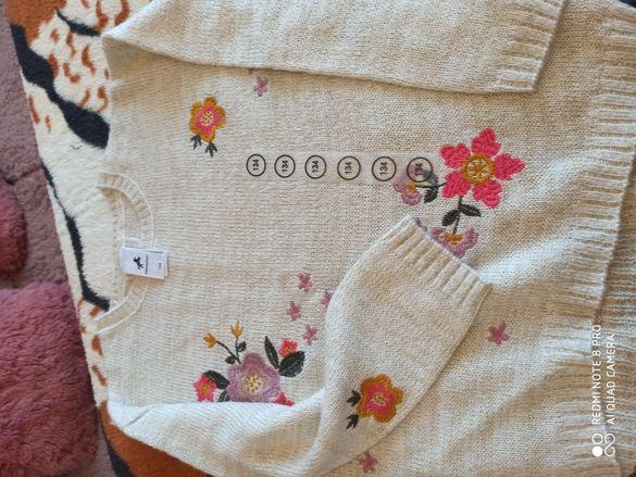 Блузки с дълъг ръкав 110 и 134р.