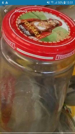 Буркани и стъклени шишета