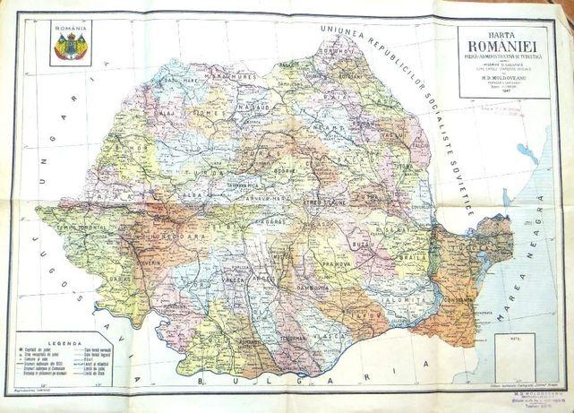Colectie harti 1901 1947