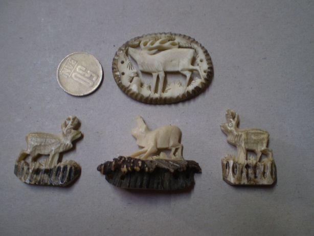 sculptura in corn , corn sculptat , vanatoare , corn de cerb